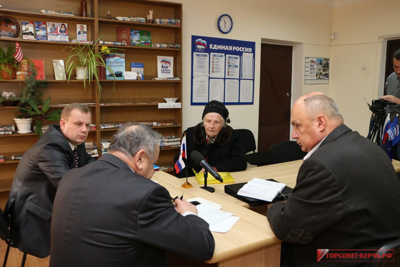 Ефим Фикс посетил Керчь с рабочим визитом