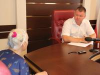 Глава администрации города Сергей Бороздин провел личный прием граждан